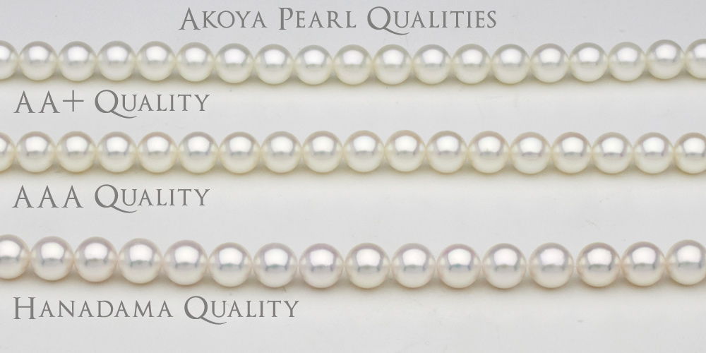Akoya pearl qualities